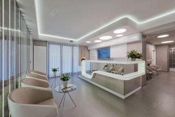 Intima Clinic - recepcja i poczekalnia