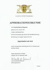 Prawo wykonywania zawodu Krzysztof Biegański