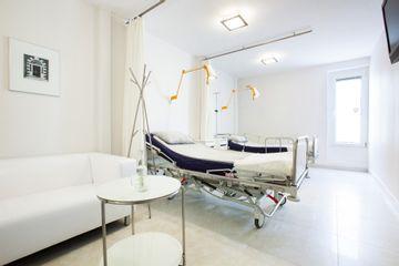 Wnętrze Gabinety medycyny estetycznej Tychy Medicus Estetic - poczekalnia