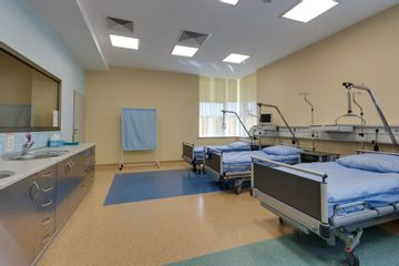 Klinika Chirurgii Mazan - sala pozabiegowa