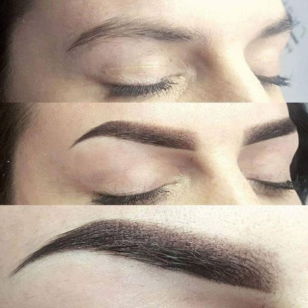 Makijaż permanentny brwi – efekty