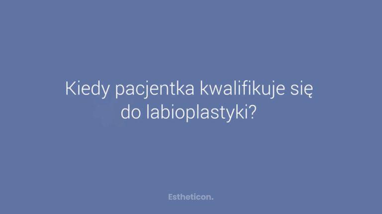 Wskazania do zabiegu labioplastyki