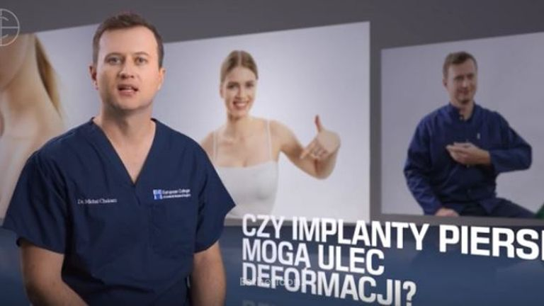 Czy implanty piersi mogą ulec deformacji?